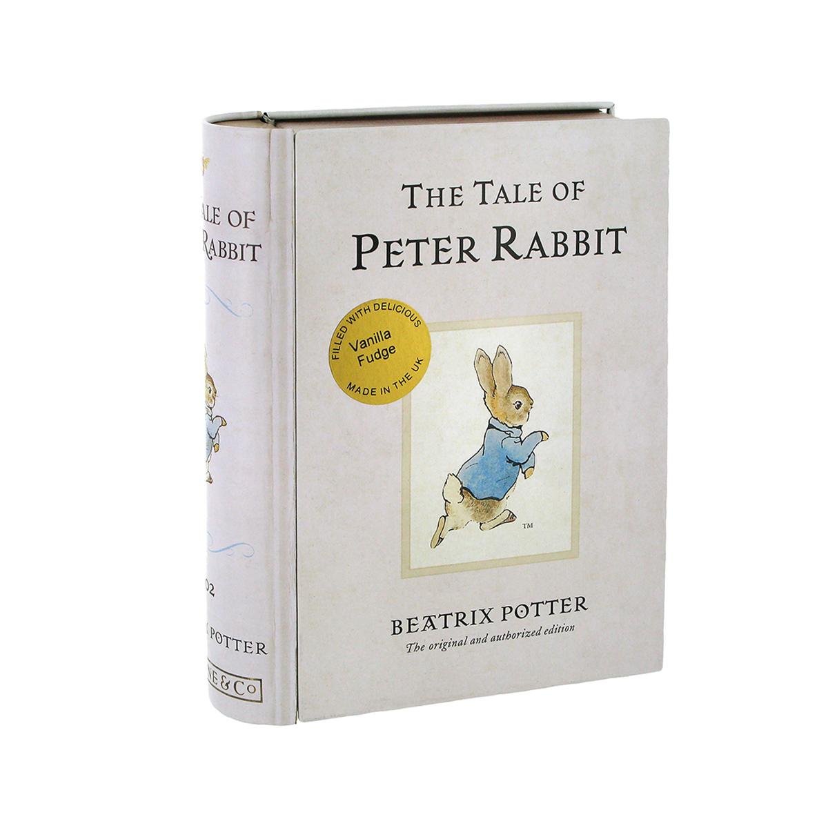 Peter Rabbit fudge tin