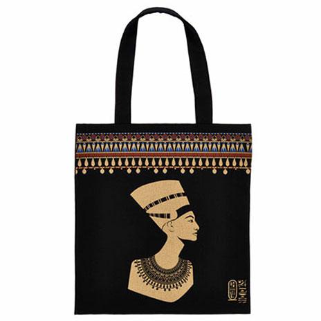 Queen Nefertiti Egyptian Goddess Tote Bag