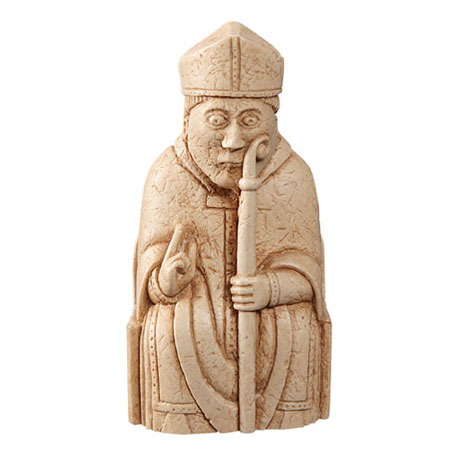 Bishop Lewis Chess Piece