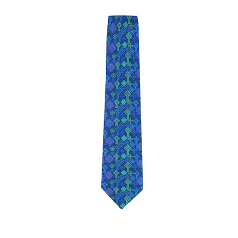 Celtic crosses tie