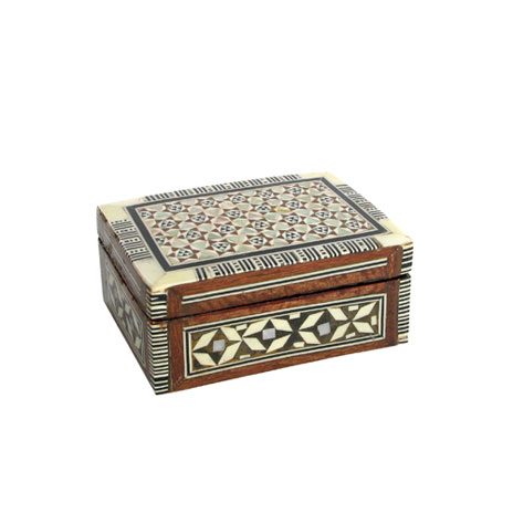 Egyptian Mother of Pearl box (small)