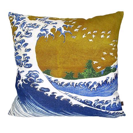 Fuji Wave cushion cover