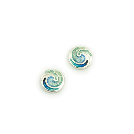 Fuji Wave earrings
