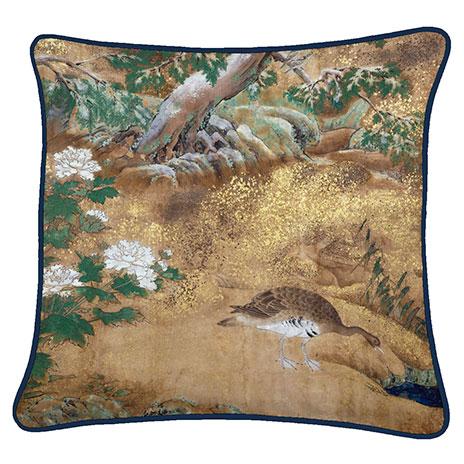 Greylag cushion