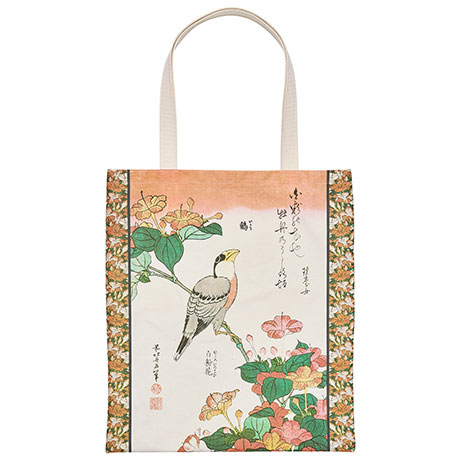Hokusai, Birds and Flowers tote bag