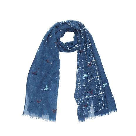 Holda scarf (jeans/blue)