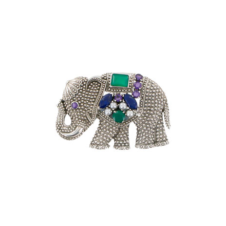 Indian elephant brooch (UK exclusive)