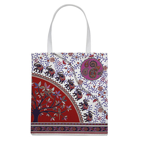 Indian prints totebag