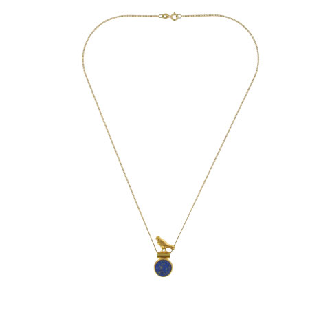 Lapis Horus necklace