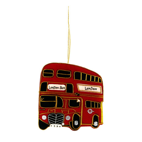 London Bus hanging decoration