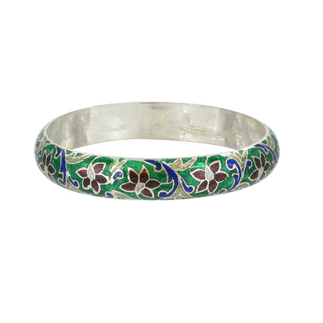 Meena green bangle (British Museum ...