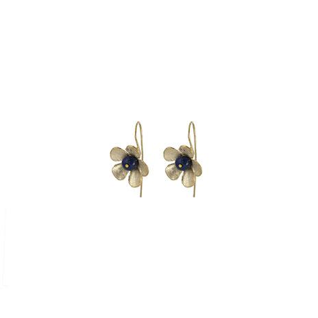Scythian flower earrings