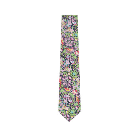 Strawberry thief tie