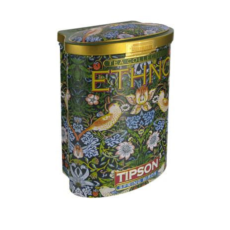 William Morris tea tin