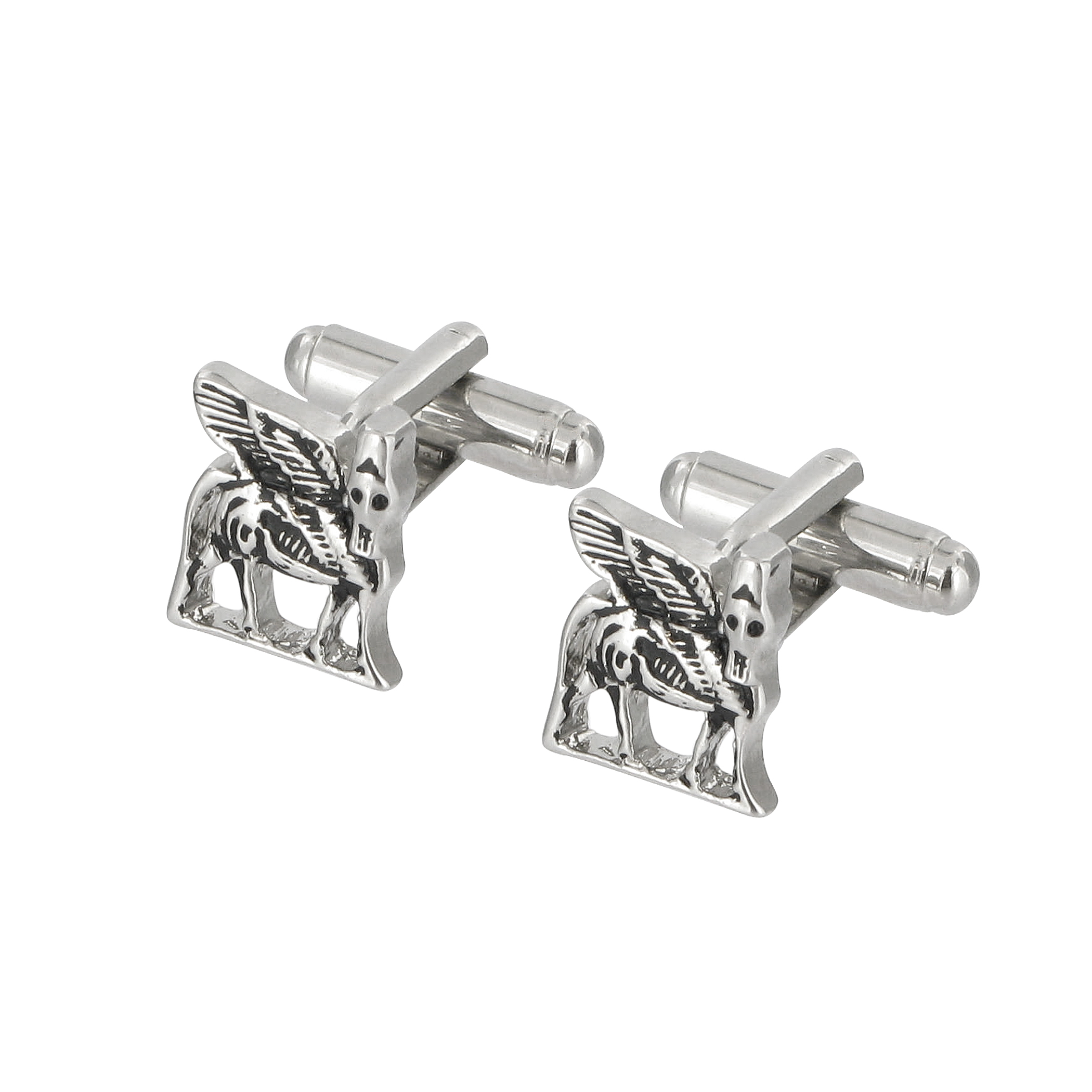 Winged bull cufflinks