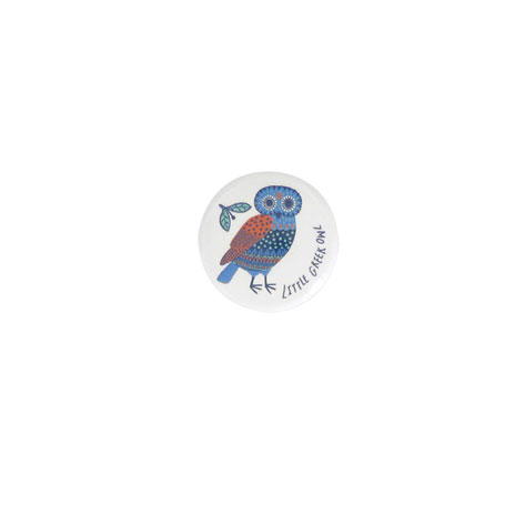 Little owl badge