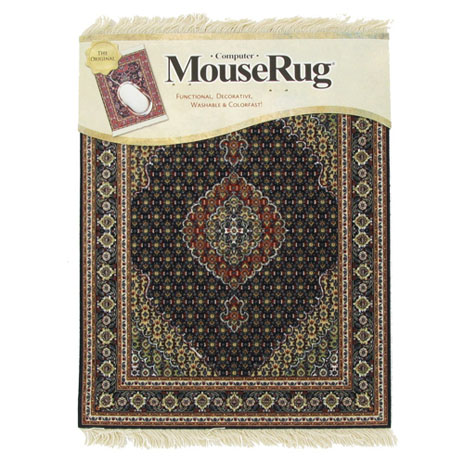 Midnight Persian mouse rug