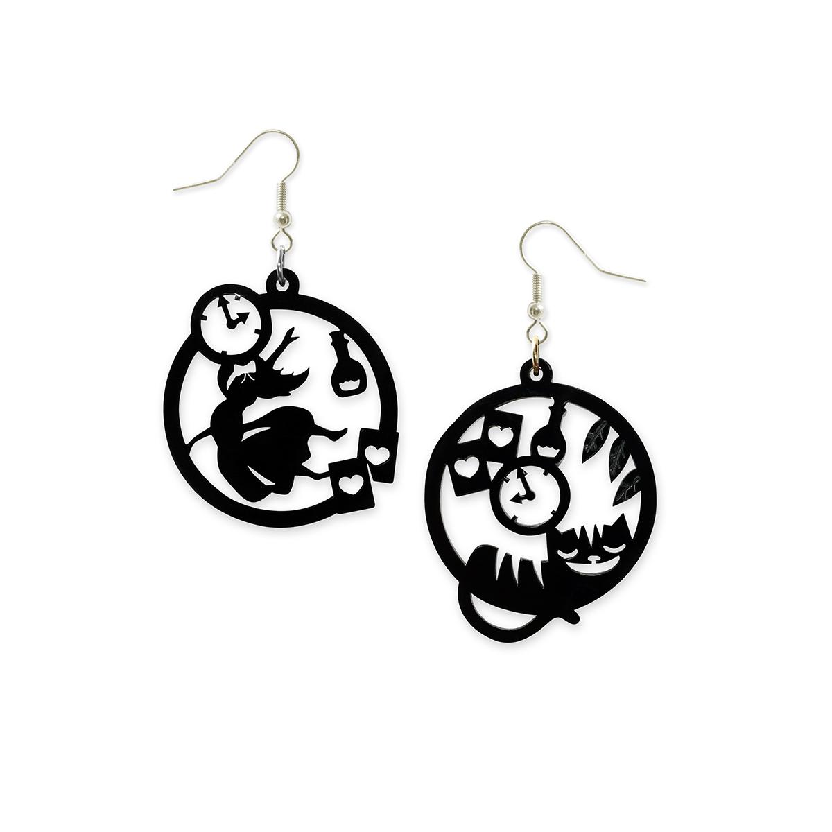 Alice silhouette earrings