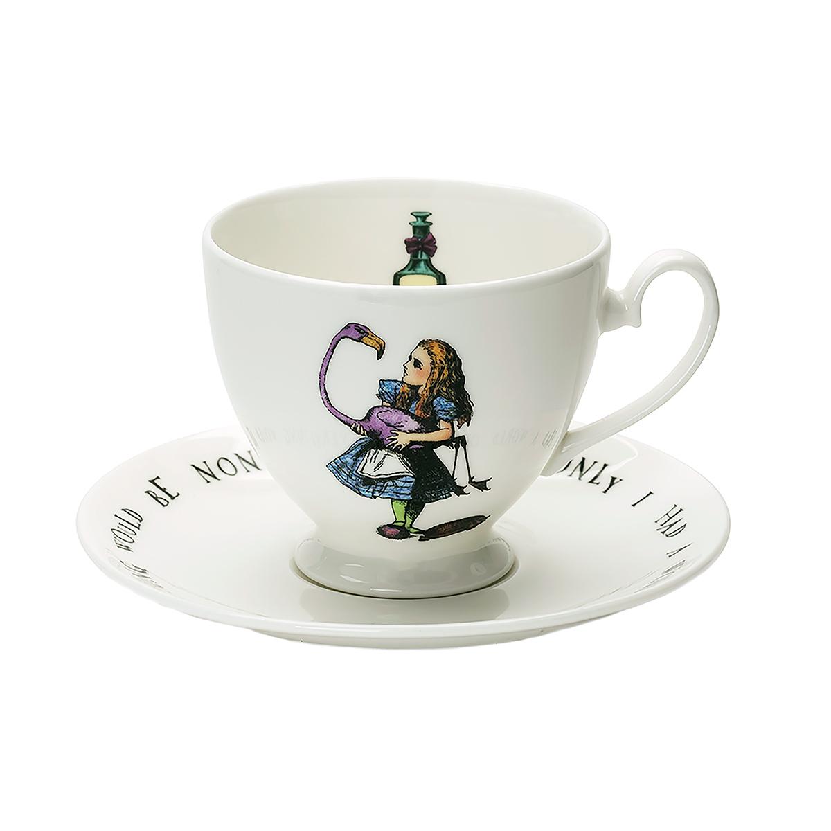 Alice in Wonderland tea cup set