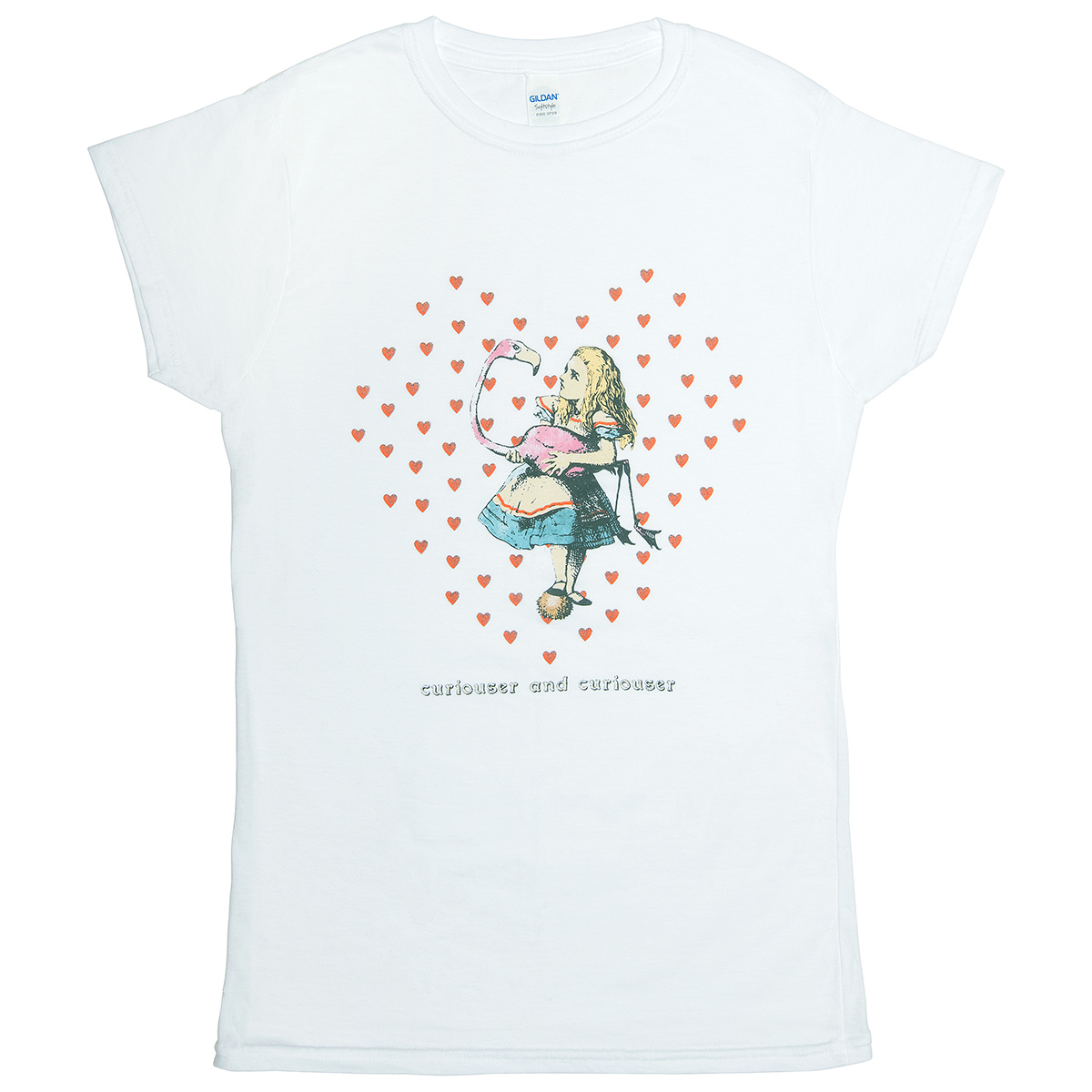 Alice in Wonderland women's t-shirt (L)