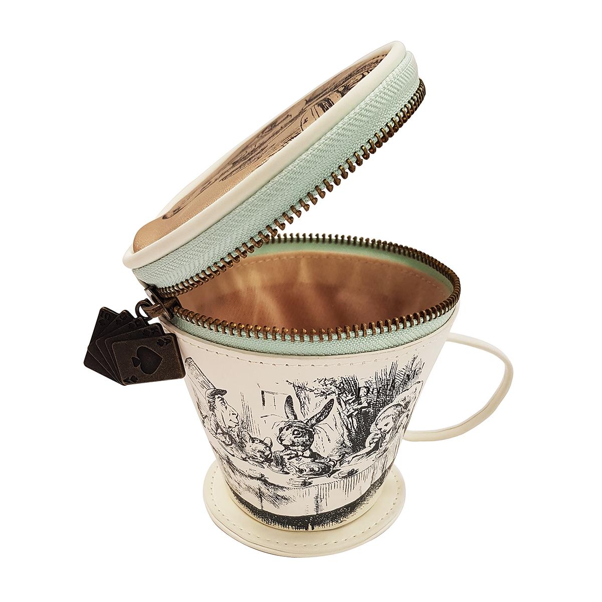 Alice's tea cup purse
