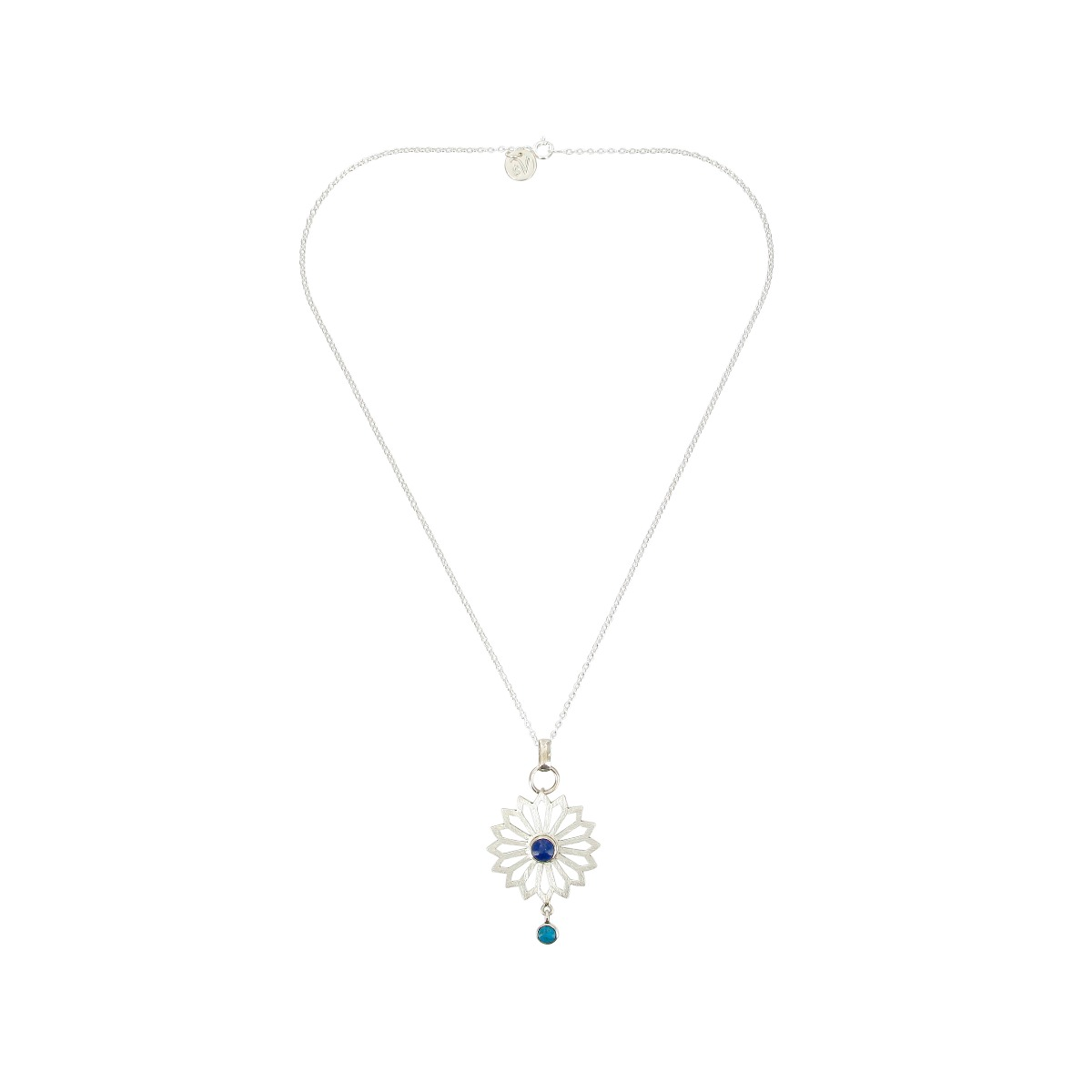 Alina flower necklace