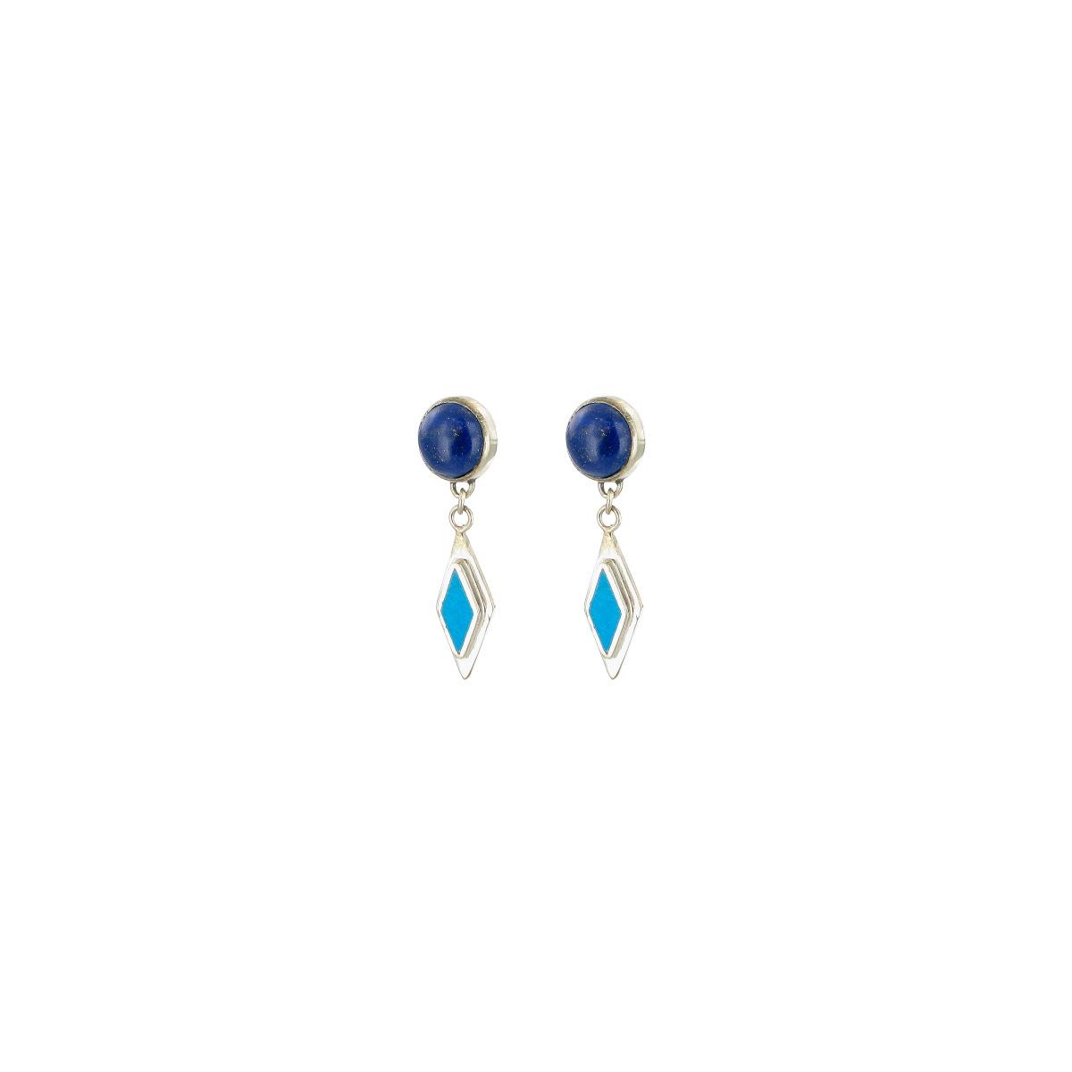 Alina star drop earrings