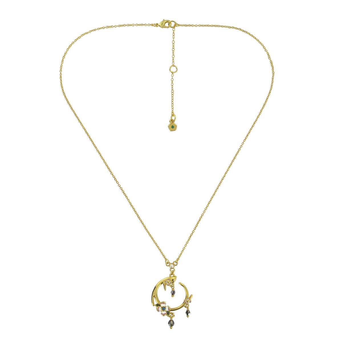 Antler pendant necklace