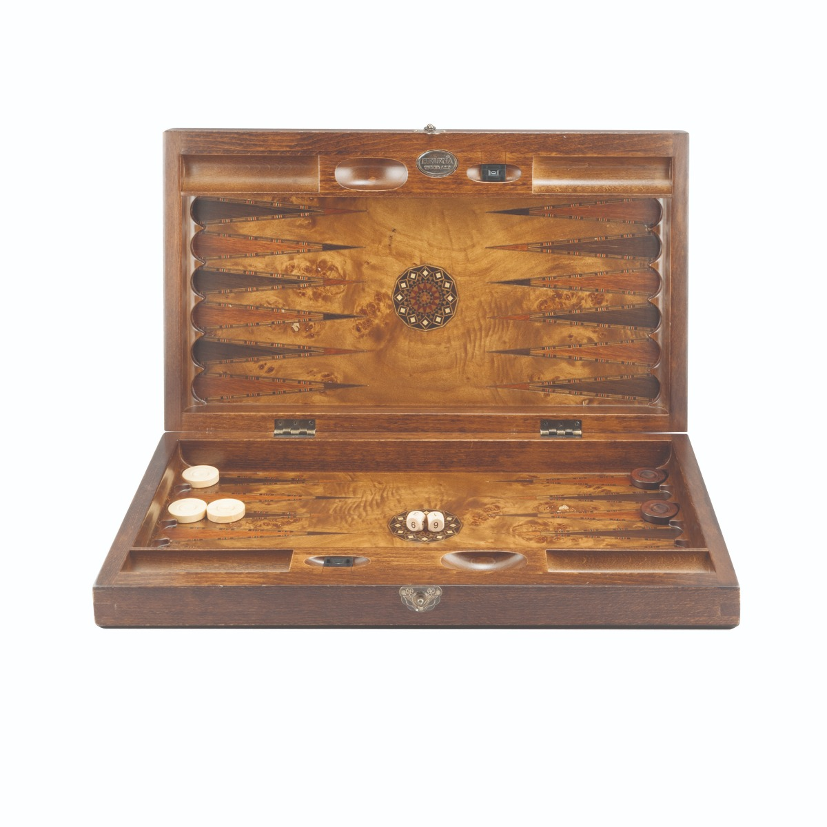 Backgammon board game (large)