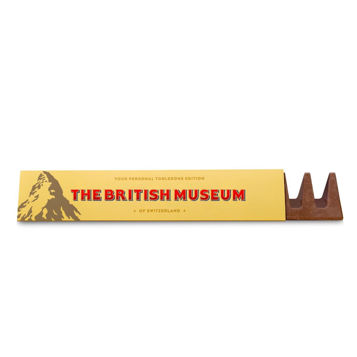 British Museum toblerone