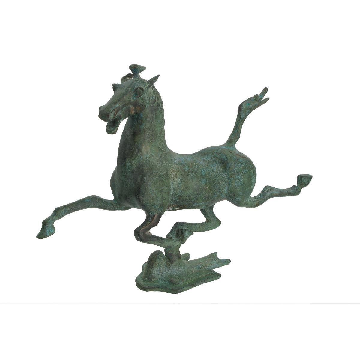 Bronze Chinese horse statue