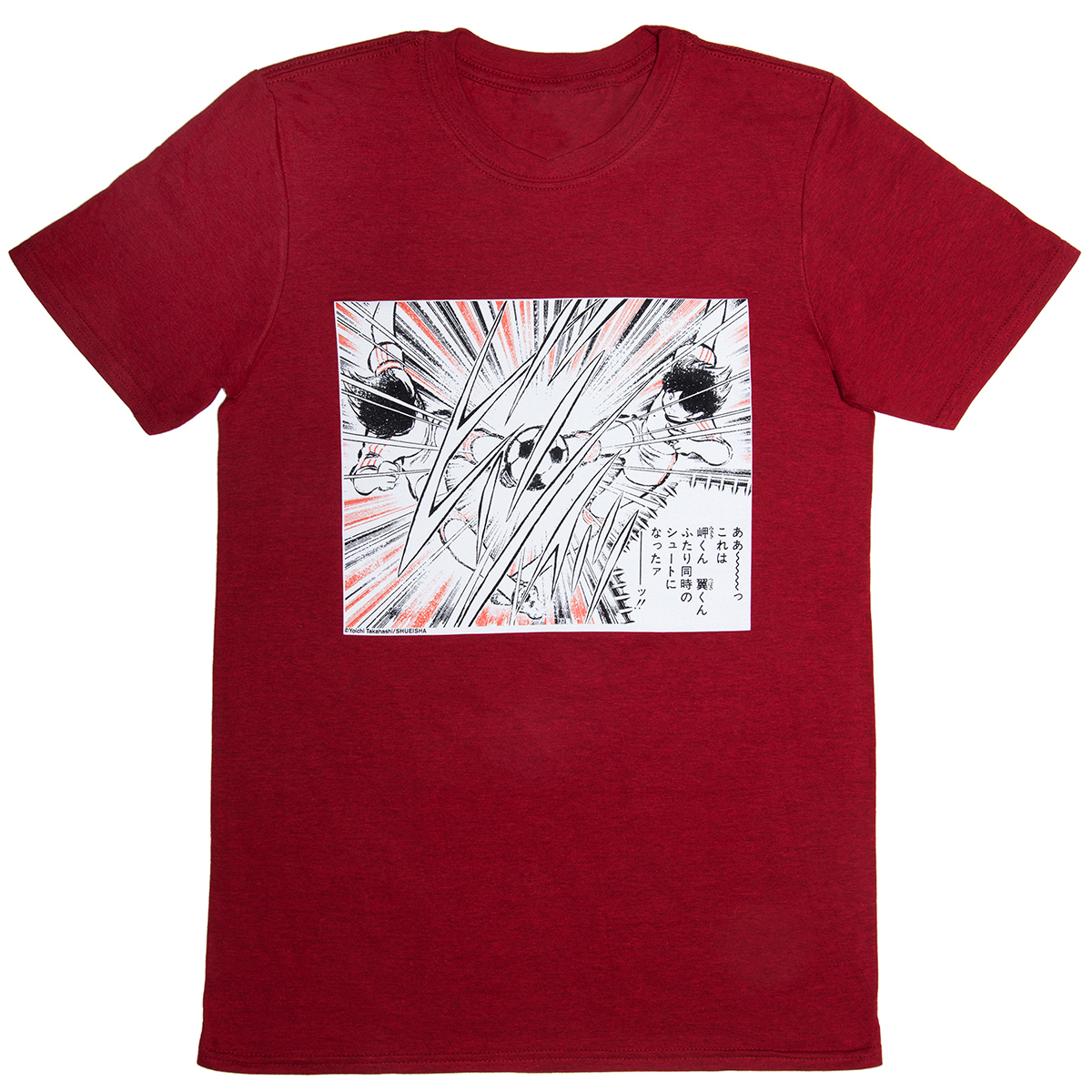 Captain Tsubasa t-shirt  (M)