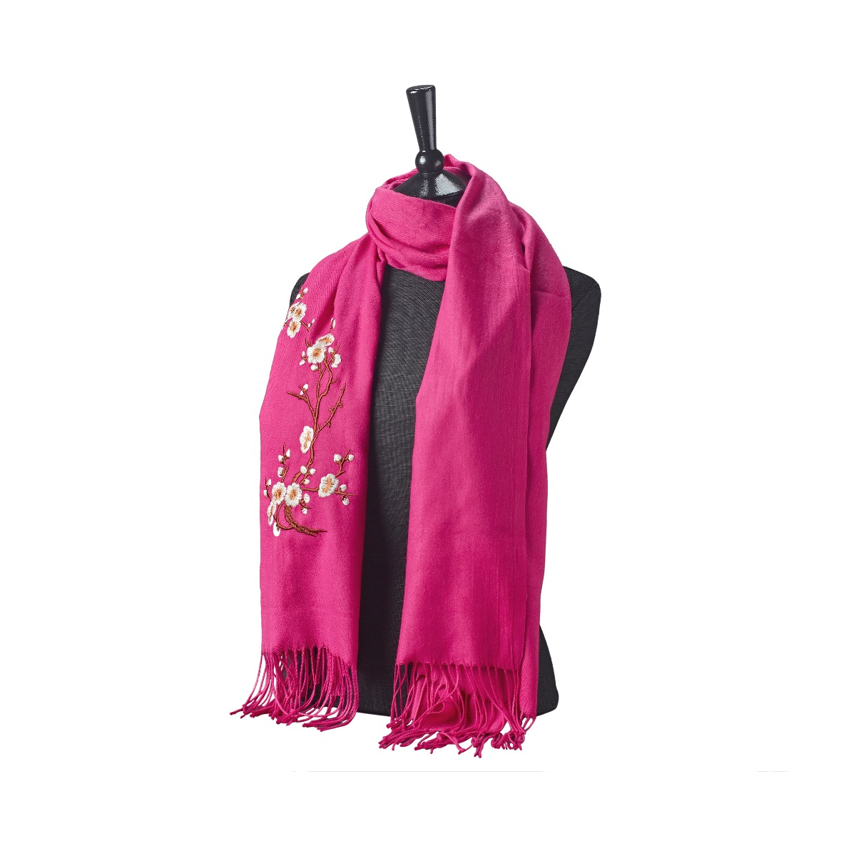 Cherry blossom scarf (pink)