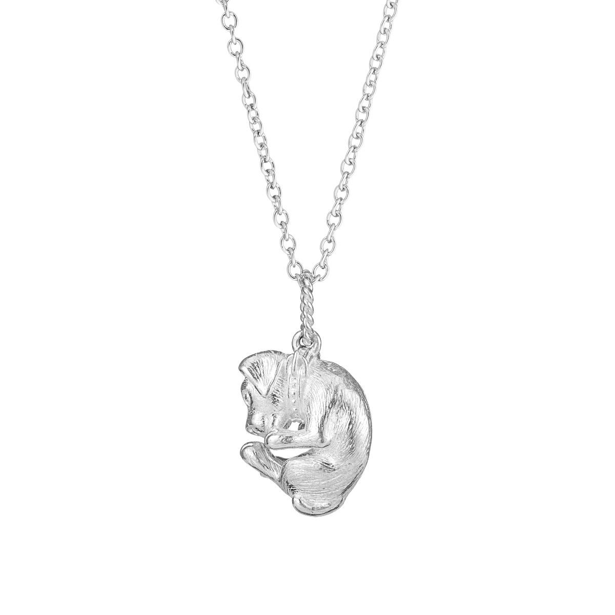 Chinese zodiac pendant necklace (dog)