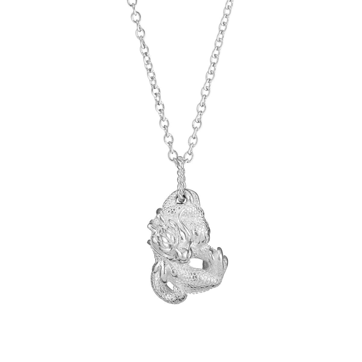Chinese zodiac pendant necklace (dragon)