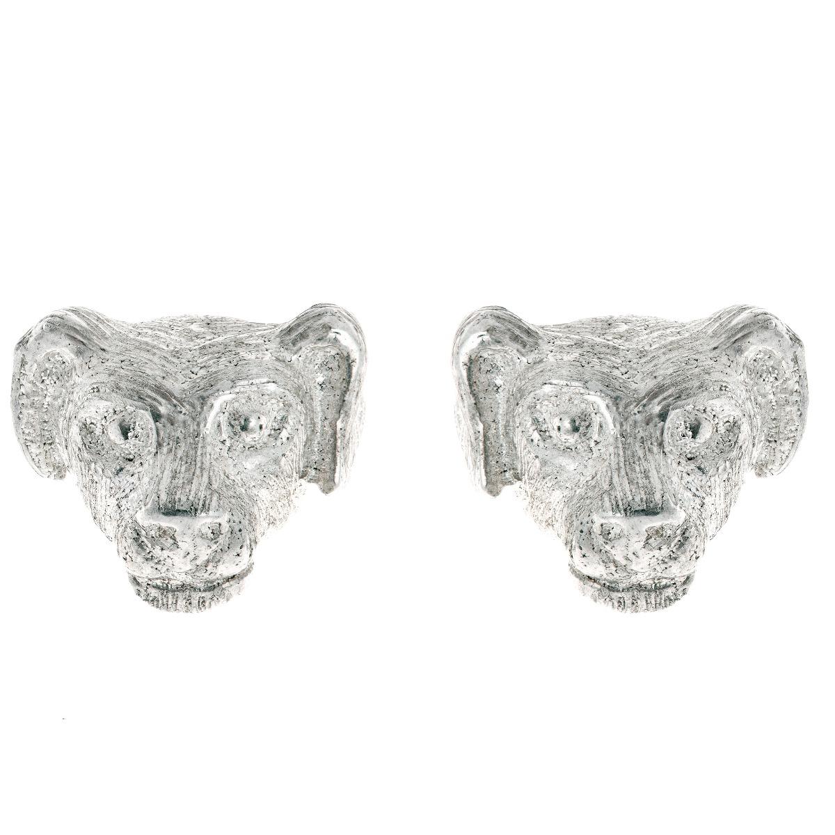 Chinese zodiac stud earrings (dog)