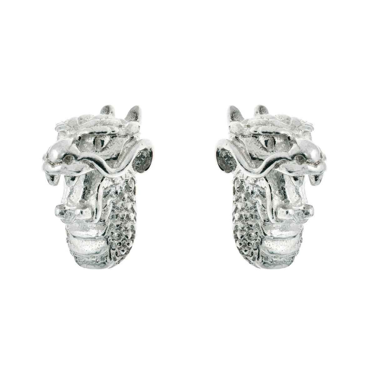 Chinese zodiac stud earrings (dragon)