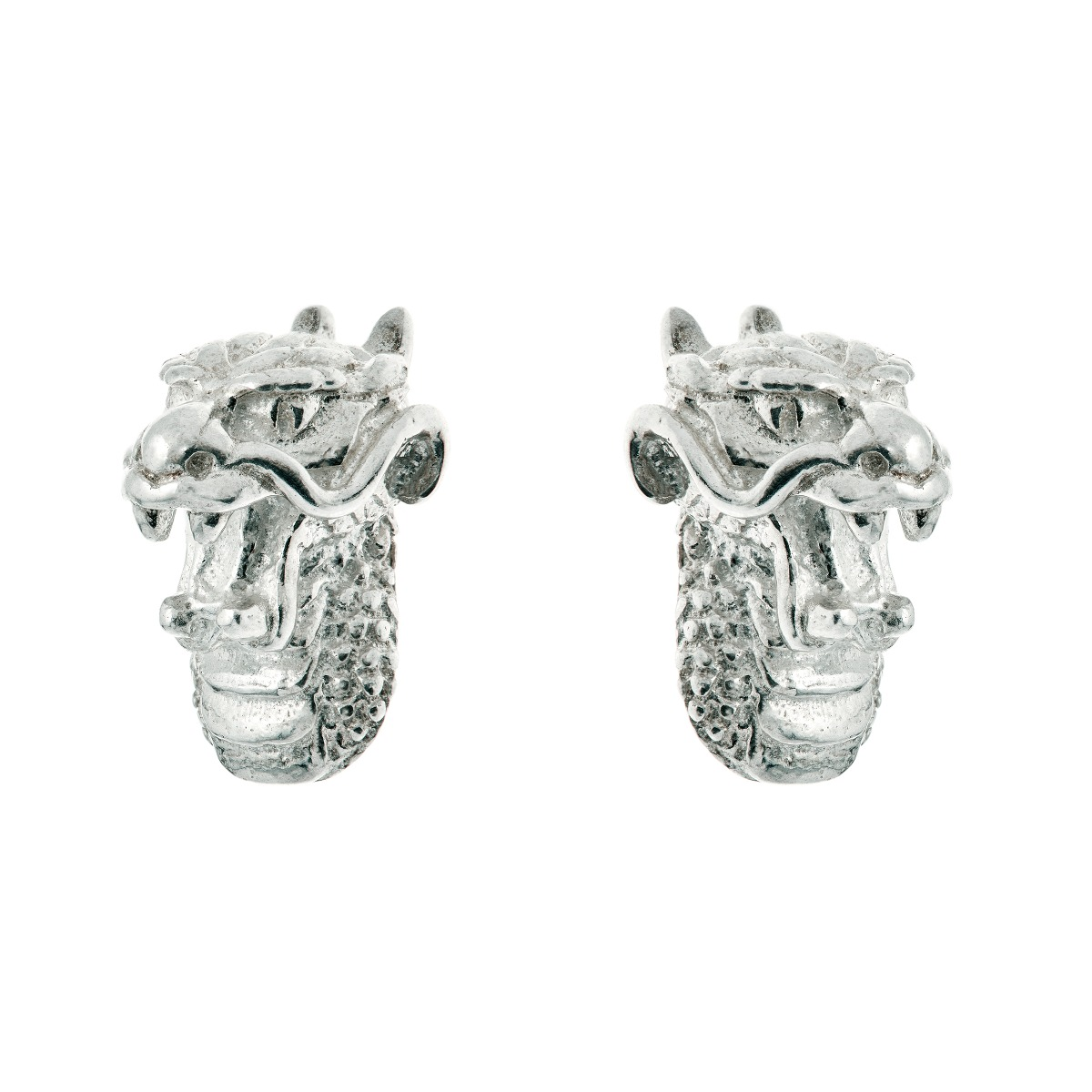 Chinese zodiac stud earrings (dragon)