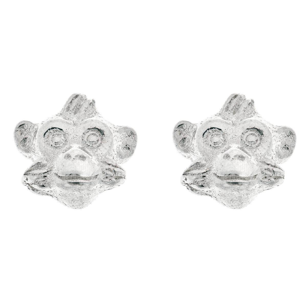 Chinese zodiac stud earrings (monkey)