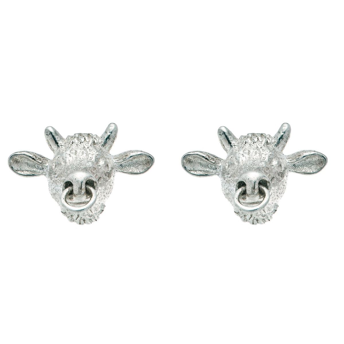 Chinese zodiac stud earrings (ox)