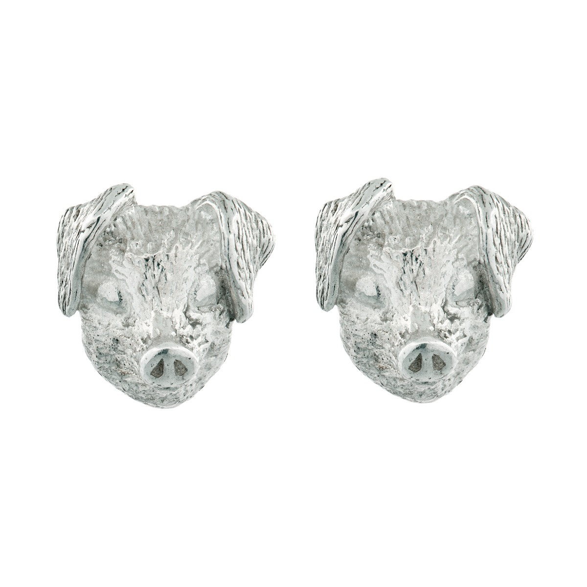 Chinese zodiac stud earrings (pig)