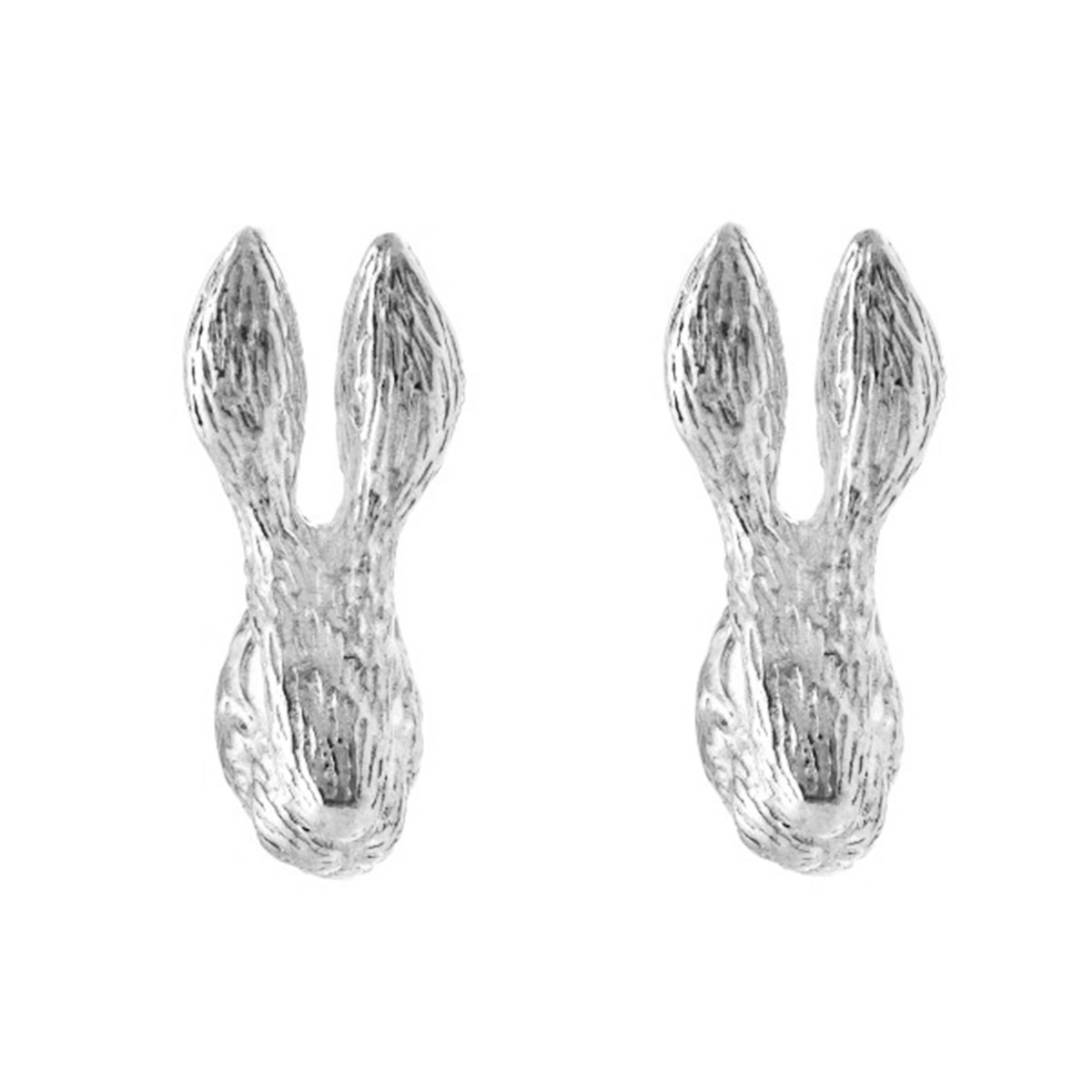 Chinese zodiac stud earrings (rabbit)