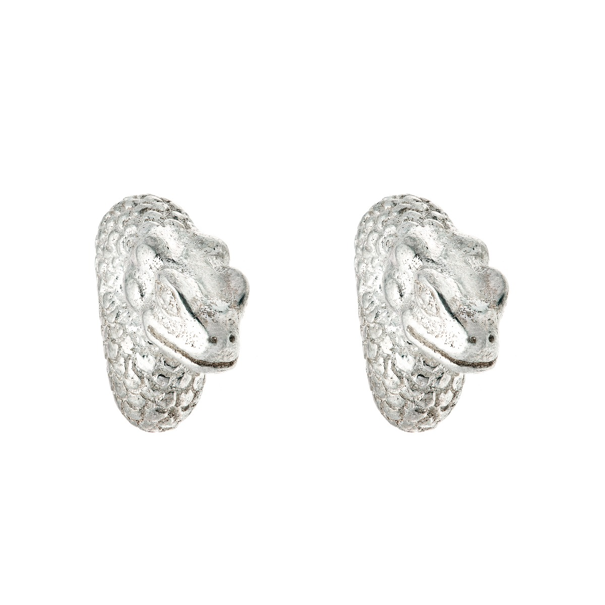 Chinese zodiac stud earrings (snake)