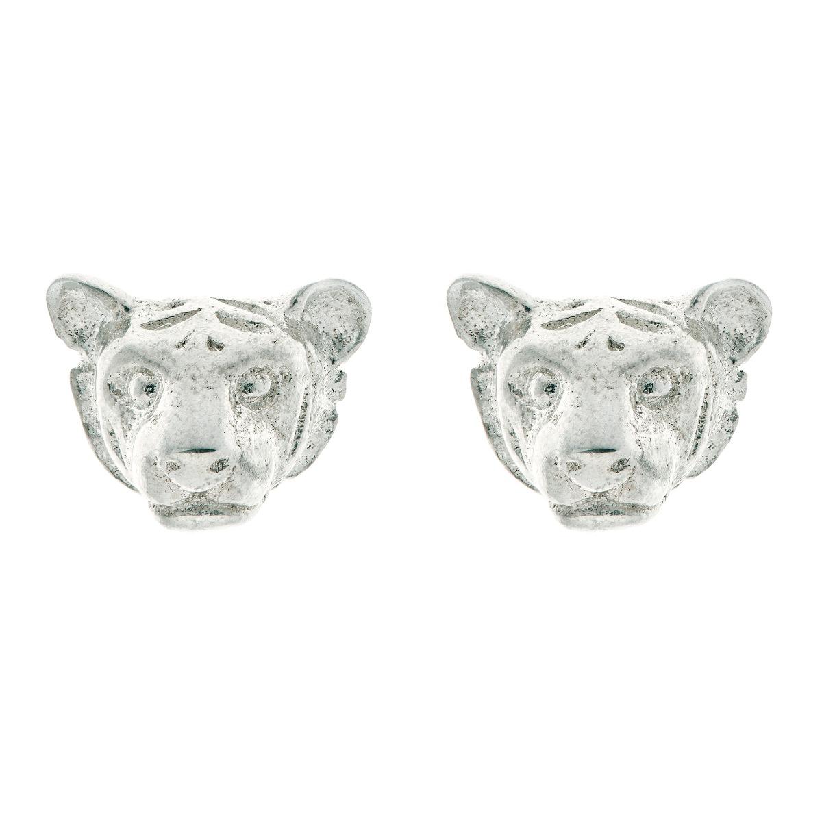 Chinese zodiac stud earrings (tiger)