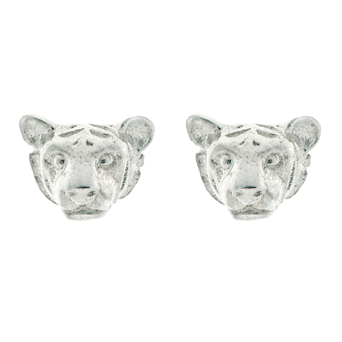 Chinese zodiac stud earrings (tiger)