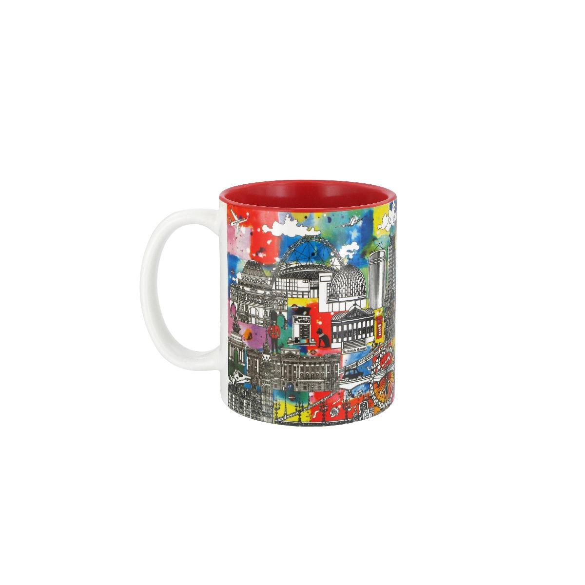 Coloursplash London mug