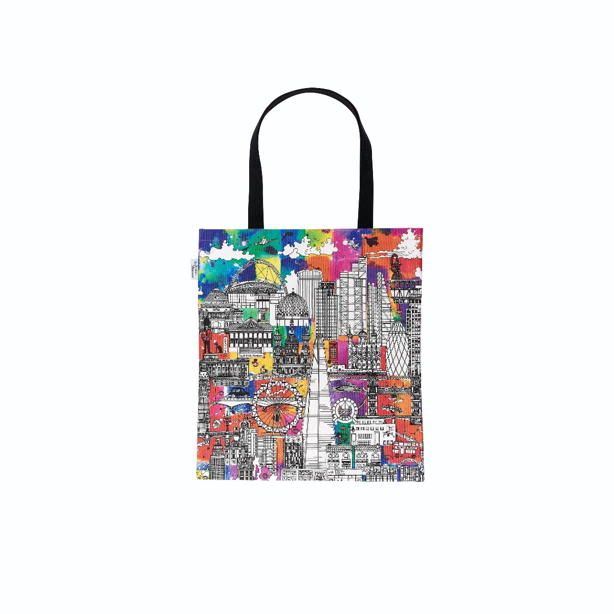 Coloursplash totebag