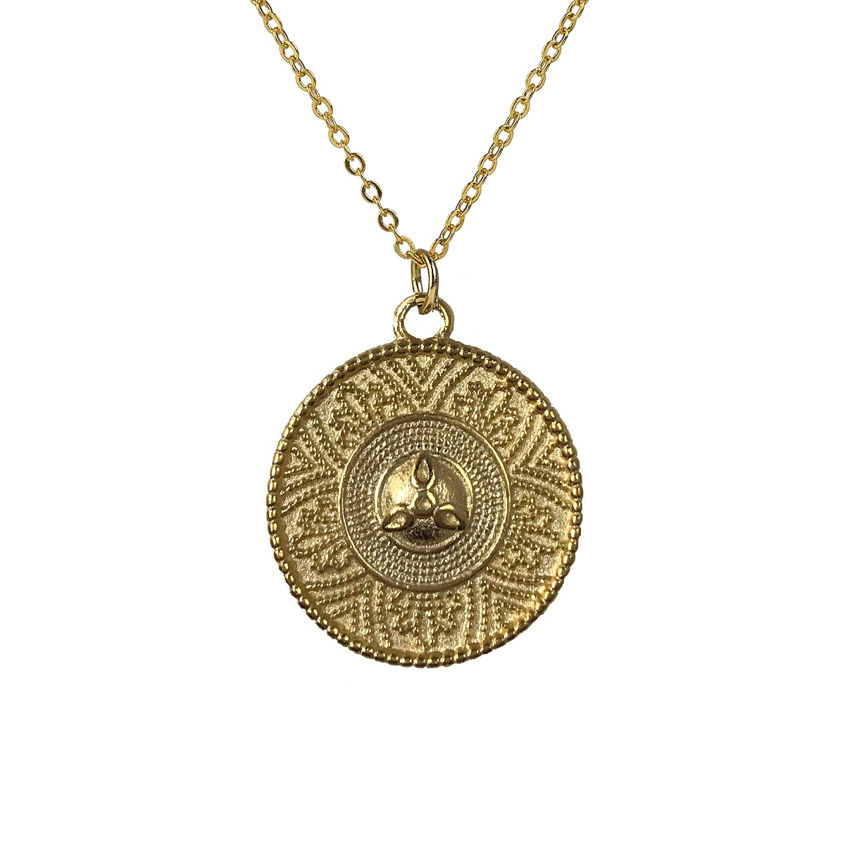 Etruscan revival necklace
