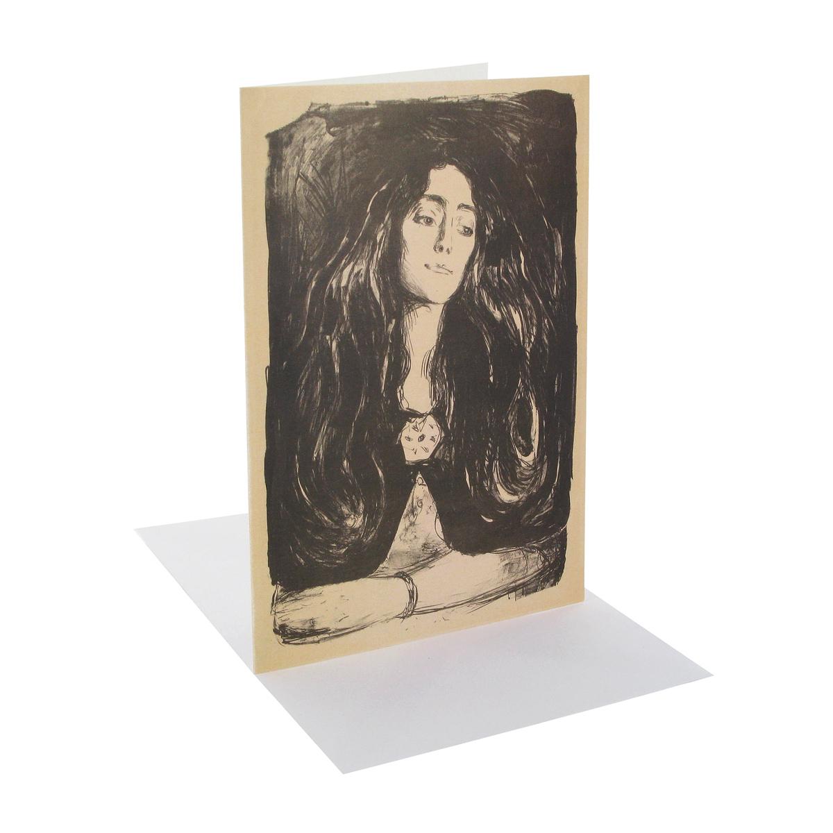 Eva Mudocci greeting card