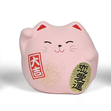 Feng shui cat (pink)